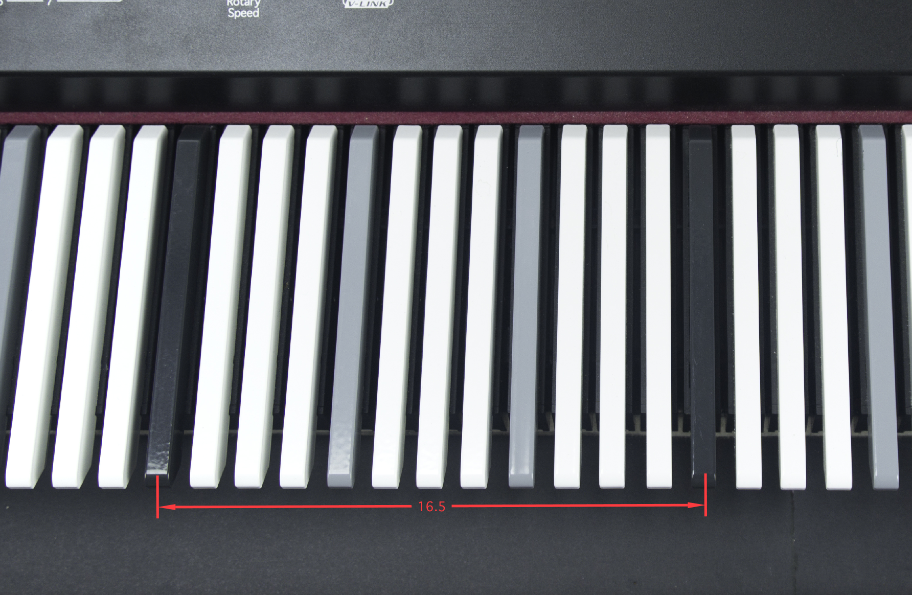 Blog - Dodeka Keyboard: What are the dimensions of the keys